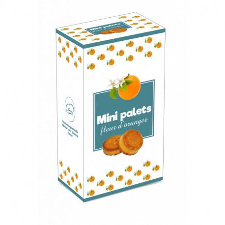 Mini palets fleur d'oranger - boîte 200G