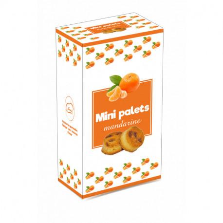 Mini palets mandarine - boîte 200G