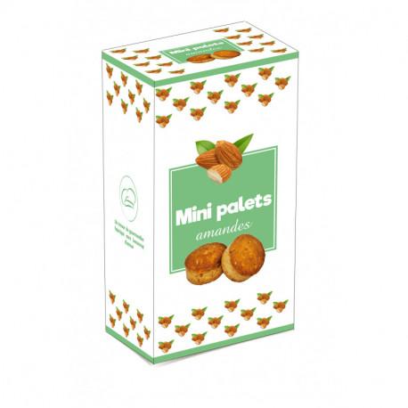 Mini palets amandes - boîte 200G