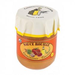 Verrine de sauce rouille